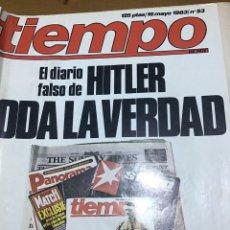 Coleccionismo de Revista Tiempo: TIEMPO NÚMERO 53. Lote 165398682