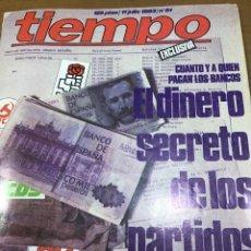 Coleccionismo de Revista Tiempo: TIEMPO NÚMERO 61. Lote 165399661