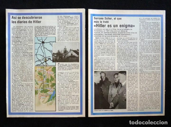 Coleccionismo de Revista Tiempo: REVISTA TIEMPO DE HOY. EL DIARIO SECRETO DE HITLER. LOTE DE 2 COLECCIONABLES. MAYO 1983 - Foto 2 - 165475486