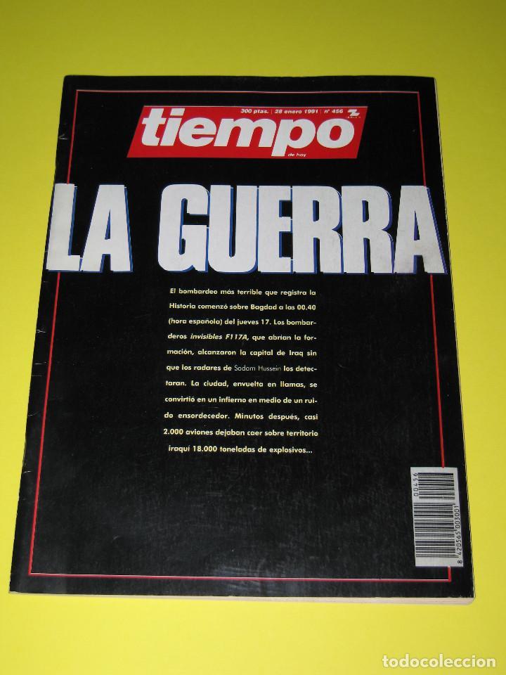 TIEMPO - NÚM. 456 - LA GUERRA - 26.01.1991 - 146 PÁG. (Coleccionismo - Revistas y Periódicos Modernos (a partir de 1.940) - Revista Tiempo)