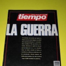 Coleccionismo de Revista Tiempo: TIEMPO - NÚM. 456 - LA GUERRA - 26.01.1991 - 146 PÁG.. Lote 165488802