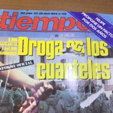 Coleccionismo de Revista Tiempo: TIEMPO NÚMERO 102. Lote 165505208