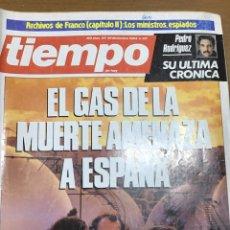 Coleccionismo de Revista Tiempo: TIEMPO NÚMERO 137. Lote 165506577