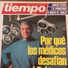 Coleccionismo de Revista Tiempo: TIEMPO NÚMERO 190. Lote 165510733