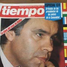 Coleccionismo de Revista Tiempo: TIEMPO NÚMERO 191. Lote 165510957