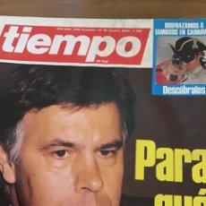 Coleccionismo de Revista Tiempo: TIEMPO NÚMERO 196. Lote 165511745