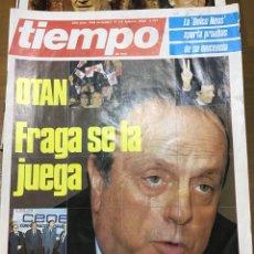 Coleccionismo de Revista Tiempo: TIEMPO NÚMERO 197. Lote 165542990