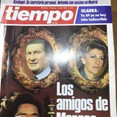 Coleccionismo de Revista Tiempo: TIEMPO NÚMERO 203. Lote 165543290