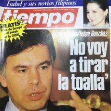 Coleccionismo de Revista Tiempo: TIEMPO NÚMERO 200. Lote 165543644