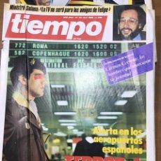 Coleccionismo de Revista Tiempo: TIEMPO NÚMERO 205. Lote 165545697
