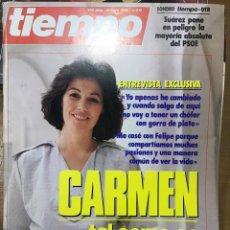 Coleccionismo de Revista Tiempo: TIEMPO NÚMERO 215. Lote 165546073
