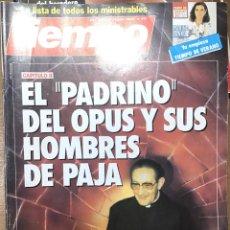 Coleccionismo de Revista Tiempo: TIEMPO NÚMERO 217. Lote 165546208