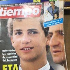 Coleccionismo de Revista Tiempo: TIEMPO NÚMERO 221. Lote 165546370