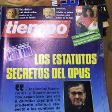 Coleccionismo de Revista Tiempo: TIEMPO NÚMERO 222. Lote 165546532