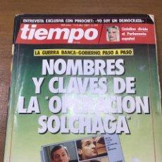 Coleccionismo de Revista Tiempo: TIEMPO NÚMERO 291. Lote 165556742