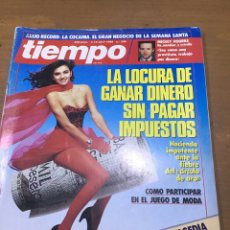 Coleccionismo de Revista Tiempo: TIEMPO NÚMERO 308. Lote 165556834