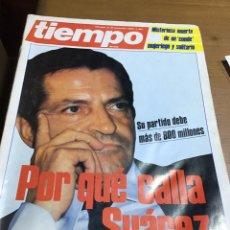 Coleccionismo de Revista Tiempo: TIEMPO NÚMERO 182. Lote 165795450