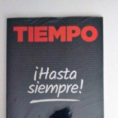 Coleccionismo de Revista Tiempo: ULTIMA EDICIÓN IMPRESA EN PAPEL DE LA REVISTA TIEMPO. Lote 168138076