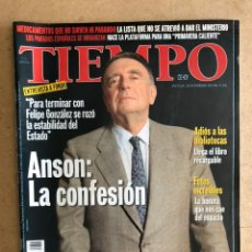 Collectionnisme de Magazine Tiempo: TIEMPO N°825 (FEBRERO, 1998). LUIS MARÍA ANSÓN: LA CONFESIÓN, JULEN MADARIAGA, MIKEL ERENTXUN,... Lote 168508960