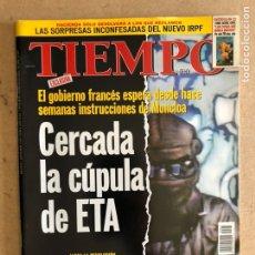 Colecionismo da Revista Tiempo: TIEMPO N°867 (DICIEMBRE, 1998). CERCADA LA CÚPULA DE ETA, JULIO ANGUITA, AZNAR, SGAE, JESÚS TORRECIL. Lote 168513742