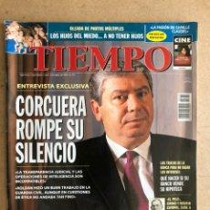 Coleccionismo de Revista Tiempo: TIEMPO N°779 (ABRIL, 1997). CORCUERA ROMPE SU SILENCIO, AZNAR, LUIXY TOLEDO, FERANNDO SAVATER. Lote 168517588