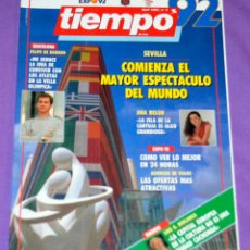 Coleccionismo de Revista Tiempo: REVISTA TIEMPO. Nº 2. EXPO´92. Lote 168883792