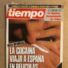Coleccionismo de Revista Tiempo: TIEMPO DE HOY N°139 (ENERO, 1985). COCAINA EN ESPAÑA, ARCHIVOS DE FRANCO (IV), CAMBIO DE SEXO PRIMER. Lote 169243246