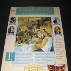Coleccionismo de Revista Tiempo: FASCÍCULO NÚM. 8 - GRAN ENCICLOPEDIA DE LA MÚSICA - ED. TIEMPO - LAS NUEVAS FRONTERAS. Lote 171022442