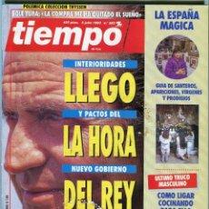Coleccionismo de Revista Tiempo: TIEMPO Nº 583 - LA HORA DEL REY - JORDI SOLE TURA - IÑAKI ANASAGASTI - M AÑO 1993 SEGUN DESCRIPCION. Lote 171723893