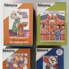 Coleccionismo de Revista Tiempo: HISTORIA 16, 81 EJEMPLARES. Lote 171736057