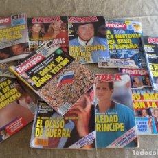 Coleccionismo de Revista Tiempo: LOTE 2- LOTE 10 REVISTAS: EPOCA Y TIEMPO AÑO 1991- POR LIQUIDACION¡¡¡¡. Lote 172419879