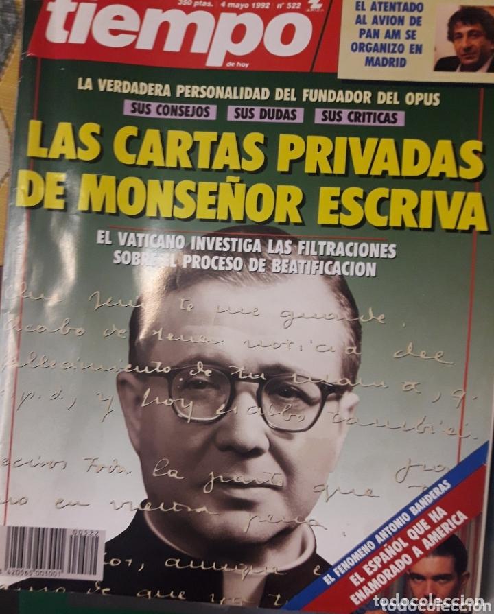 REVISTA TIEMPO 1992 (Coleccionismo - Revistas y Periódicos Modernos (a partir de 1.940) - Revista Tiempo)