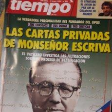 Coleccionismo de Revista Tiempo: REVISTA TIEMPO 1992. Lote 173985812