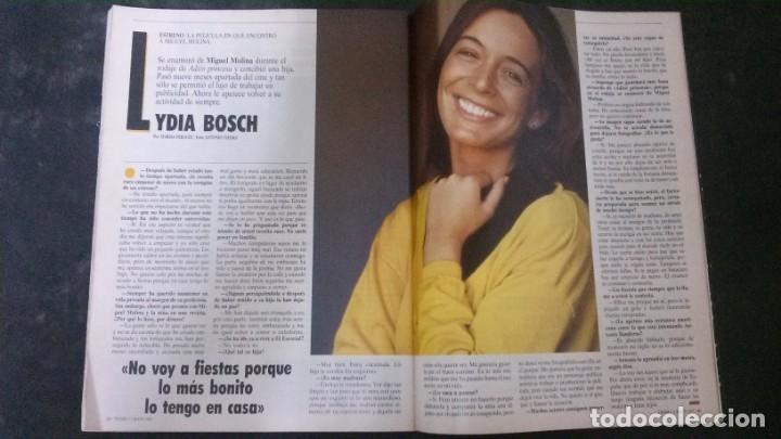 REVISTA TIEMPO-LYDIA BOSCH- (Coleccionismo - Revistas y Periódicos Modernos (a partir de 1.940) - Revista Tiempo)
