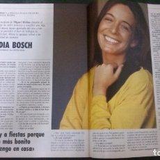 Coleccionismo de Revista Tiempo: REVISTA TIEMPO-LYDIA BOSCH-. Lote 174981129