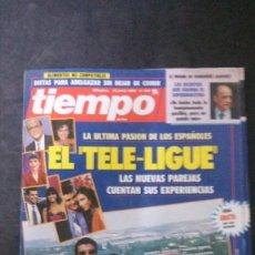 Coleccionismo de Revista Tiempo: ESTEFANIA-ISABEL PANTOJA-RAFFAELLA CARRA-NACHO DUATO-JULIO IGLESIAS-NADINE GORDIMER-MANUEL VICENT. Lote 175059758
