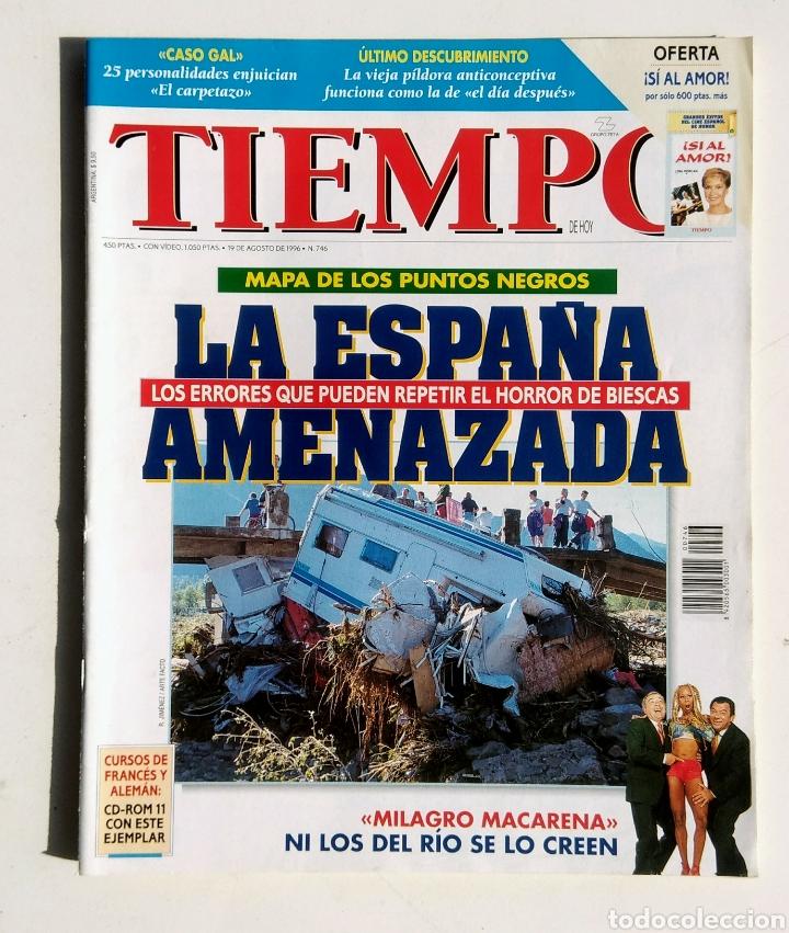Coleccionismo de Revista Tiempo: Lote de 6 Revistas. Tiempo de hoy. 1991-1996. - Foto 2 - 177003364