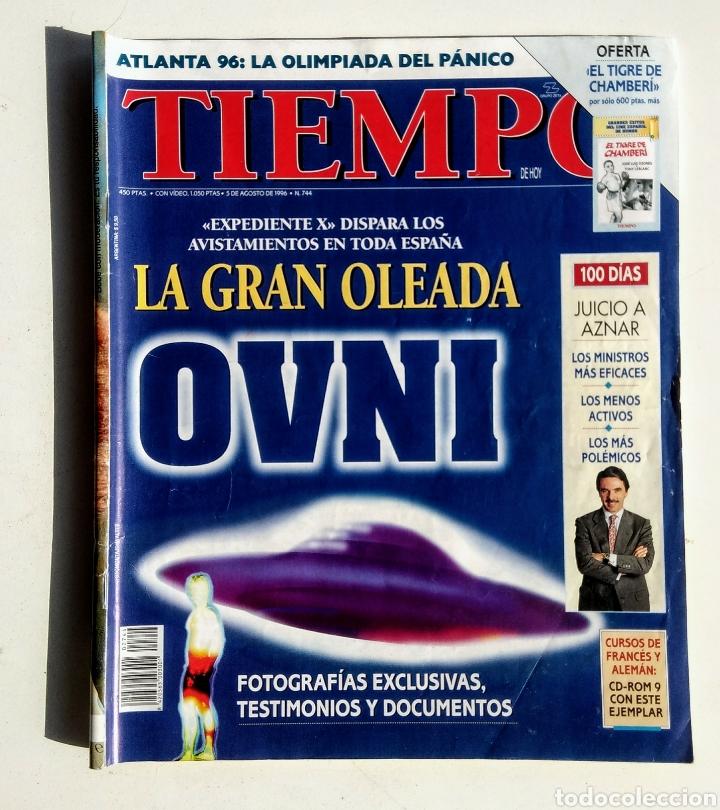 Coleccionismo de Revista Tiempo: Lote de 6 Revistas. Tiempo de hoy. 1991-1996. - Foto 3 - 177003364
