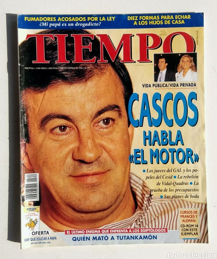 Coleccionismo de Revista Tiempo: Lote de 6 Revistas. Tiempo de hoy. 1991-1996. - Foto 4 - 177003364