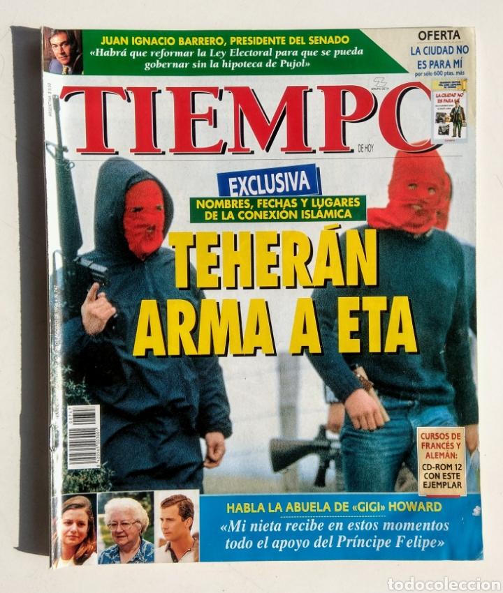 Coleccionismo de Revista Tiempo: Lote de 6 Revistas. Tiempo de hoy. 1991-1996. - Foto 5 - 177003364