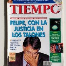 Coleccionismo de Revista Tiempo: LOTE DE 6 REVISTAS. TIEMPO DE HOY. 1991-1996.. Lote 177003364