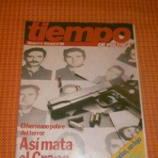 Coleccionismo de Revista Tiempo: REVISTA TIEMPO DE POLITICA NÚMERO 2/4-10 DE JUNIO DE 1981.. Lote 177829493