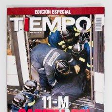 Coleccionismo de Revista Tiempo: TIEMPO - EDICION ESPECIAL - 11M CAPITAL DEL HORROR. Lote 178073447