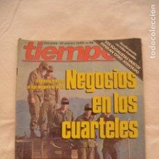 Coleccionismo de Revista Tiempo: REVISTA TIEMPO AÑOS 80 #62#. Lote 178153694
