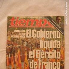 Coleccionismo de Revista Tiempo: REVISTA TIEMPO AÑOS 80 #61#. Lote 58009366