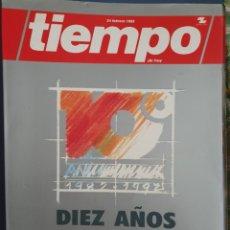 Coleccionismo de Revista Tiempo: REVISA EL TIEMPO DIEZ AÑOS 1982 - 1992. Lote 178629755