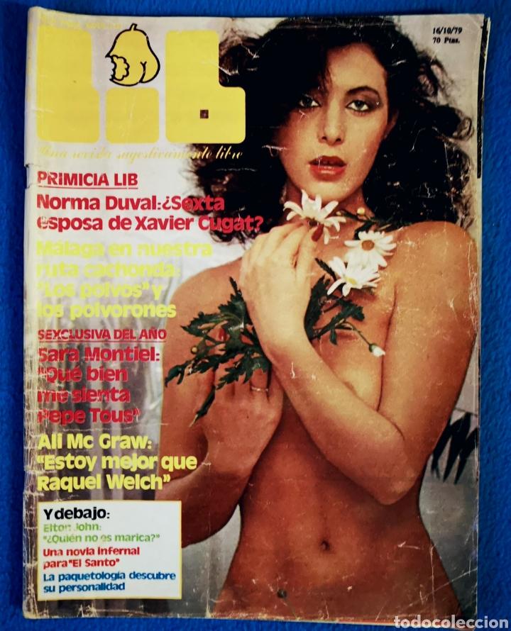 LIB - REVISTA 16 10 1979 (Coleccionismo - Revistas y Periódicos Modernos (a partir de 1.940) - Revista Tiempo)