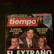 Collectionnisme de Magazine Tiempo: MISS ESPAÑA-JAVIER GURRUCHAGA-MERYL STREEP. Lote 186450287