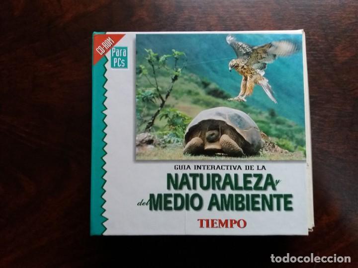 GUÍA INTERACTIVA DE LA NATURALEZA Y DEL MEDIO AMBIENTE. TIEMPO.1997. CAJA CON 6 CDS. (Coleccionismo - Revistas y Periódicos Modernos (a partir de 1.940) - Revista Tiempo)