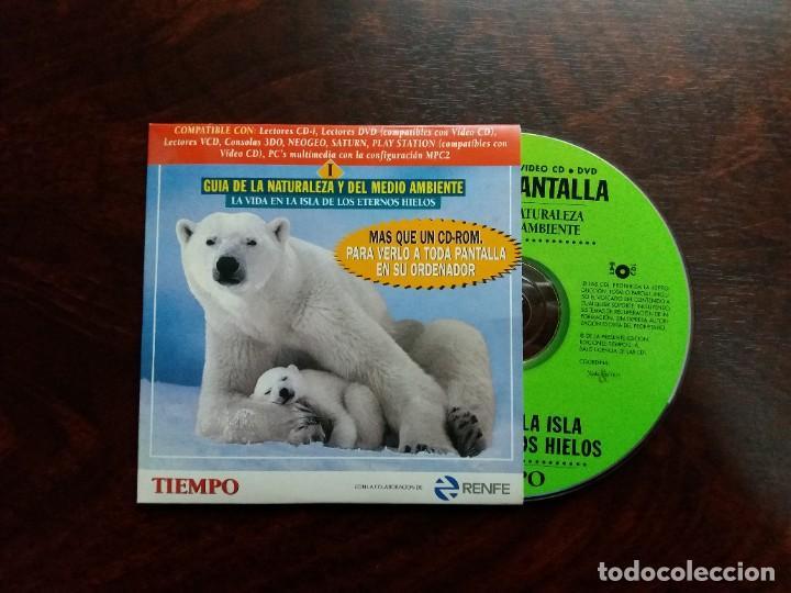 Coleccionismo de Revista Tiempo: GUíA INTERACTIVA DE LA NATURALEZA Y DEL MEDIO AMBIENTE. TIEMPO.1997. CAJA CON 6 CDs. - Foto 4 - 188716931